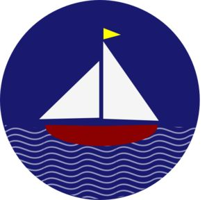 Sailing Boat clipart themed Pinterest art & Nautical into