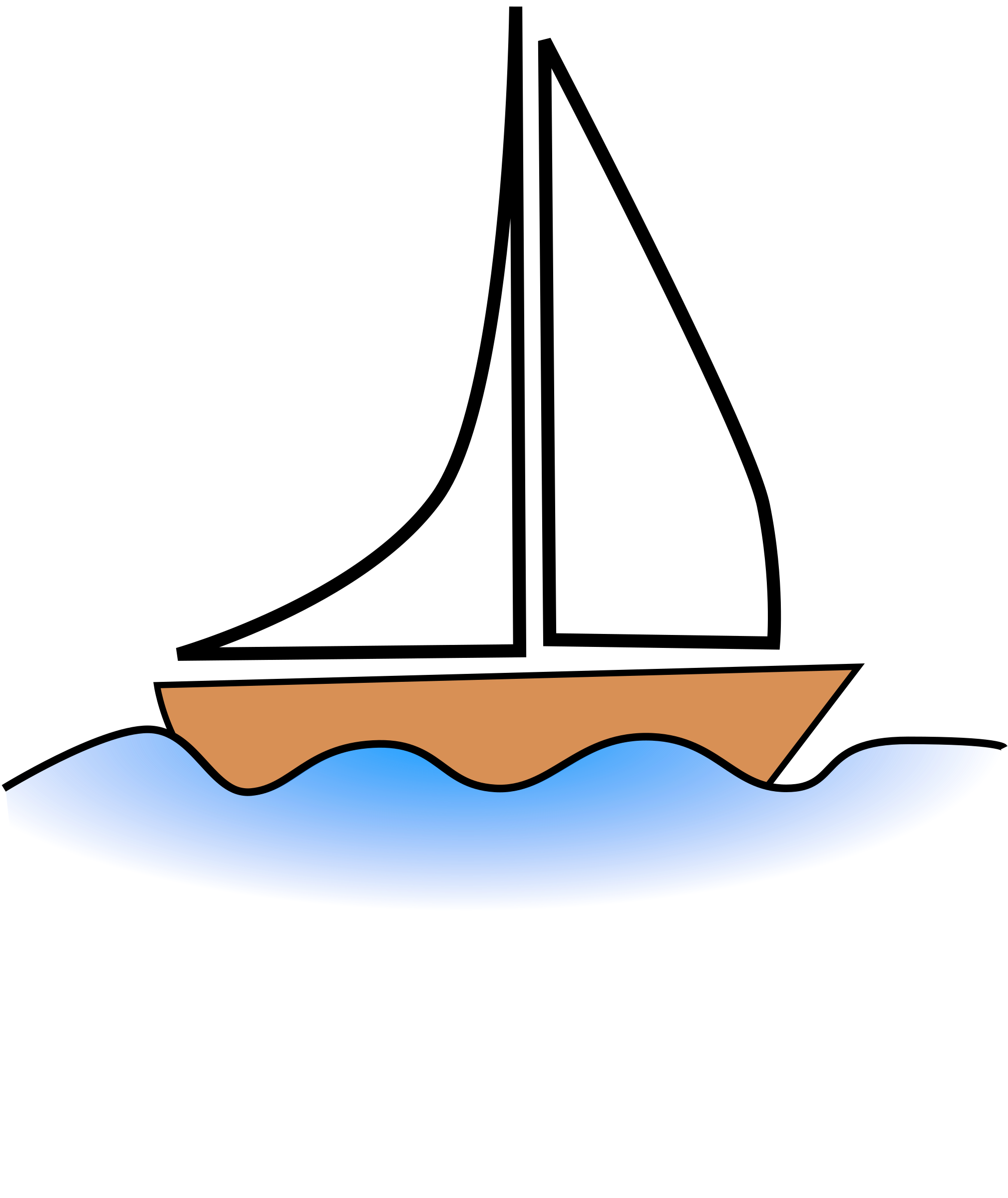 Sailing Boat clipart water clipart #11