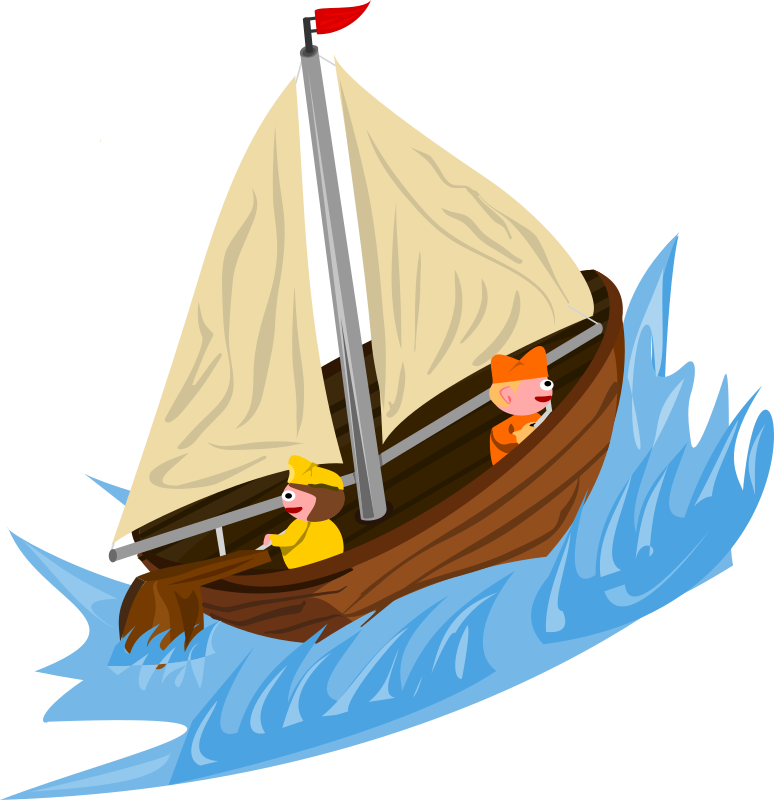 Sailing Boat clipart water clipart #7