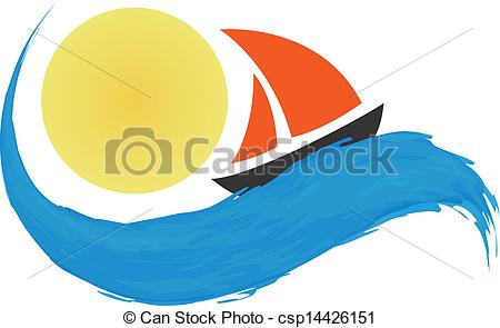 Sailing Boat clipart water clipart #14