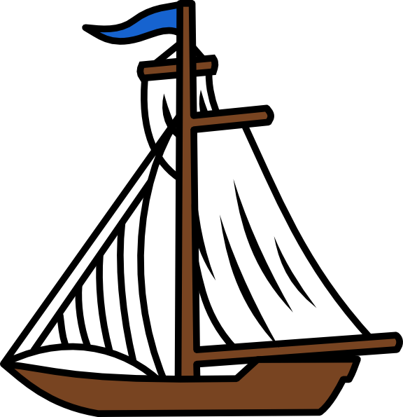 Sailing clipart little boat #6