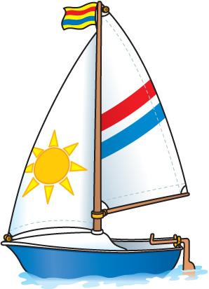 Boat clipart carson dellosa Clipartix Sailboat free clip free