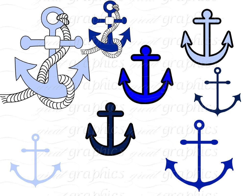 Sailing clipart anchor #14