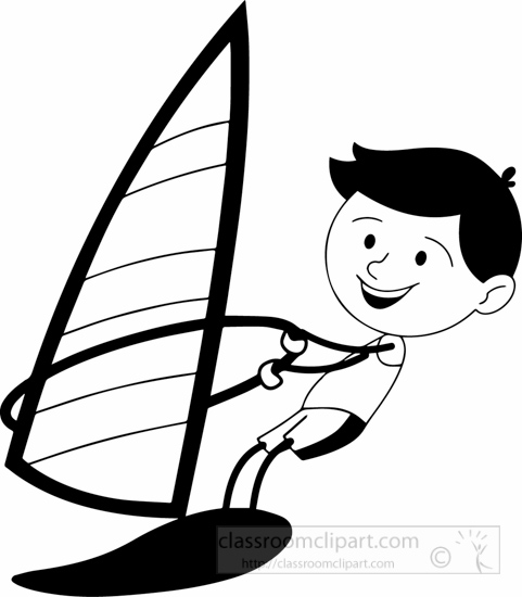 Sailing Boat clipart water clipart #12
