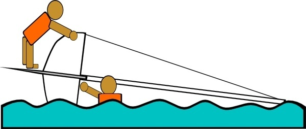 Sailing clipart rescue boat Vector Capsized (11 Vector Free