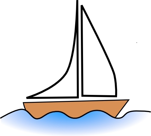 Sailing clipart rescue boat Open clip drawing Free svg