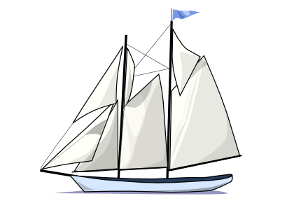 Sailing clipart sailboat Art your for Public an
