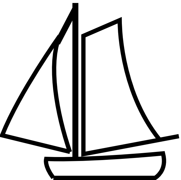 Sailboat clipart speed boat Black Clipart Clipart Images boat%20clipart%20black%20and%20white