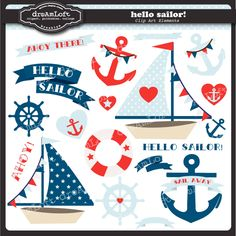 Sailing clipart themed Sailing boy memories Clip collection