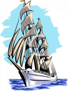 Sailing Ship clipart Ship Clip Sailing Art Ship