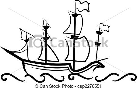 Sailing Ship clipart battleship #10
