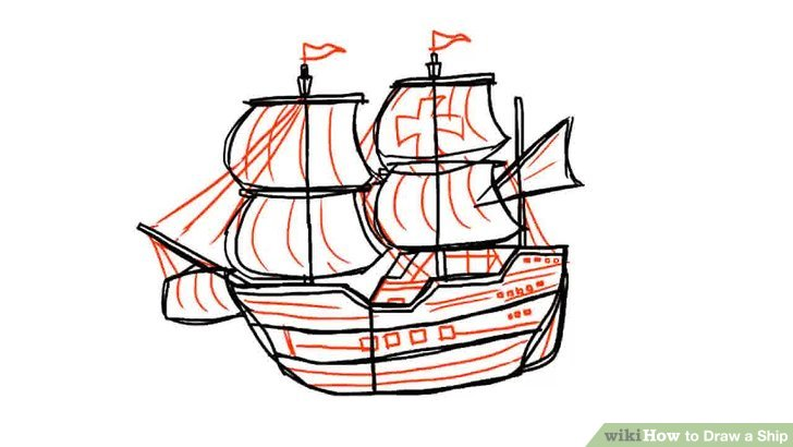 Sailing Ship clipart battleship #9