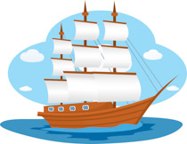 Sailing Ship clipart battleship #2
