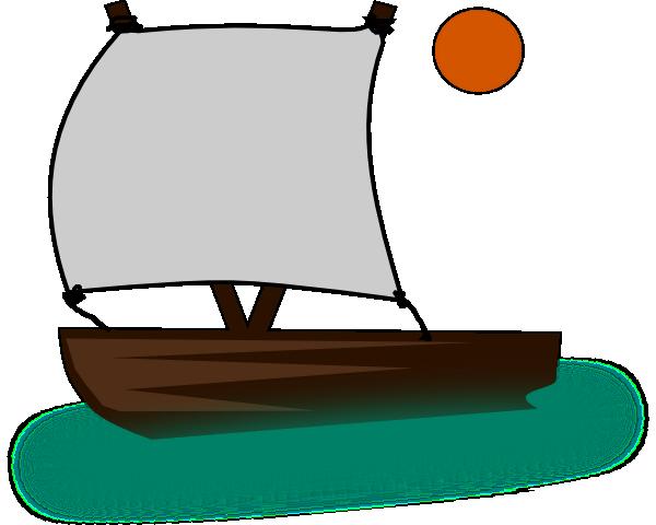 Sailing Boat clipart little boat Art Boat Boat Clip Clip