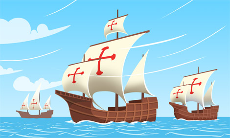 Sailing Ship clipart christopher columbus Of PNG1 History ColumbusDay jpg