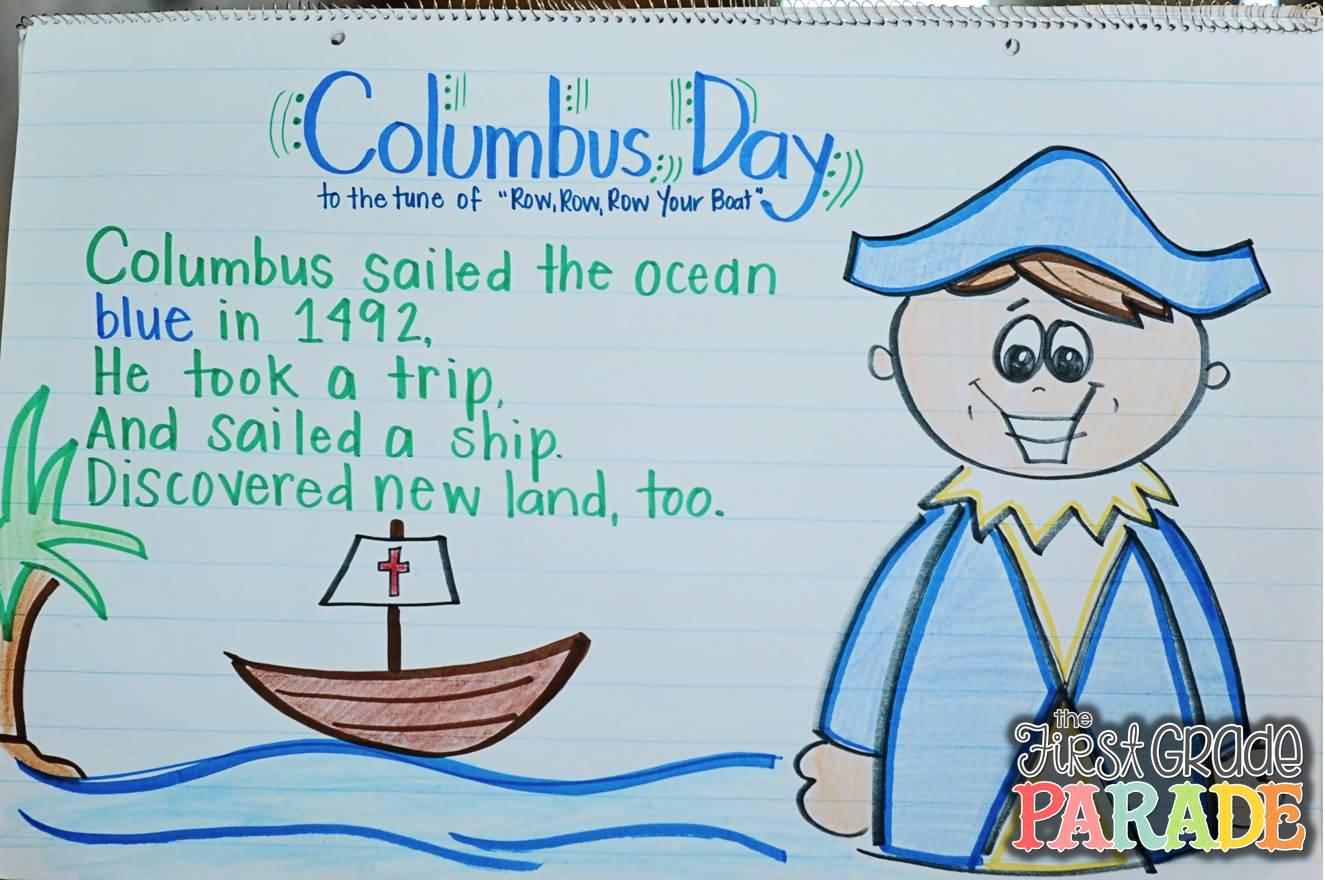 Sailing Ship clipart christopher columbus Columbus A Christopher Ocean A