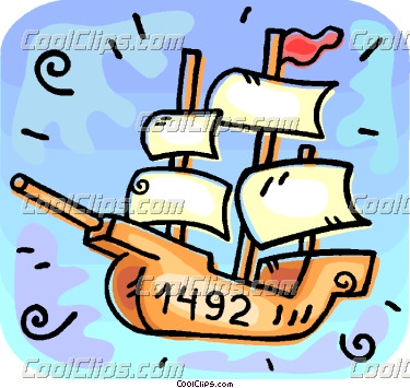 Sailing Ship clipart christopher columbus Untitled  Document