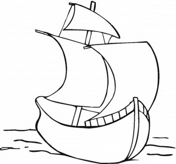 Sailing Ship clipart christopher columbus Coloring  Posts Ships Related