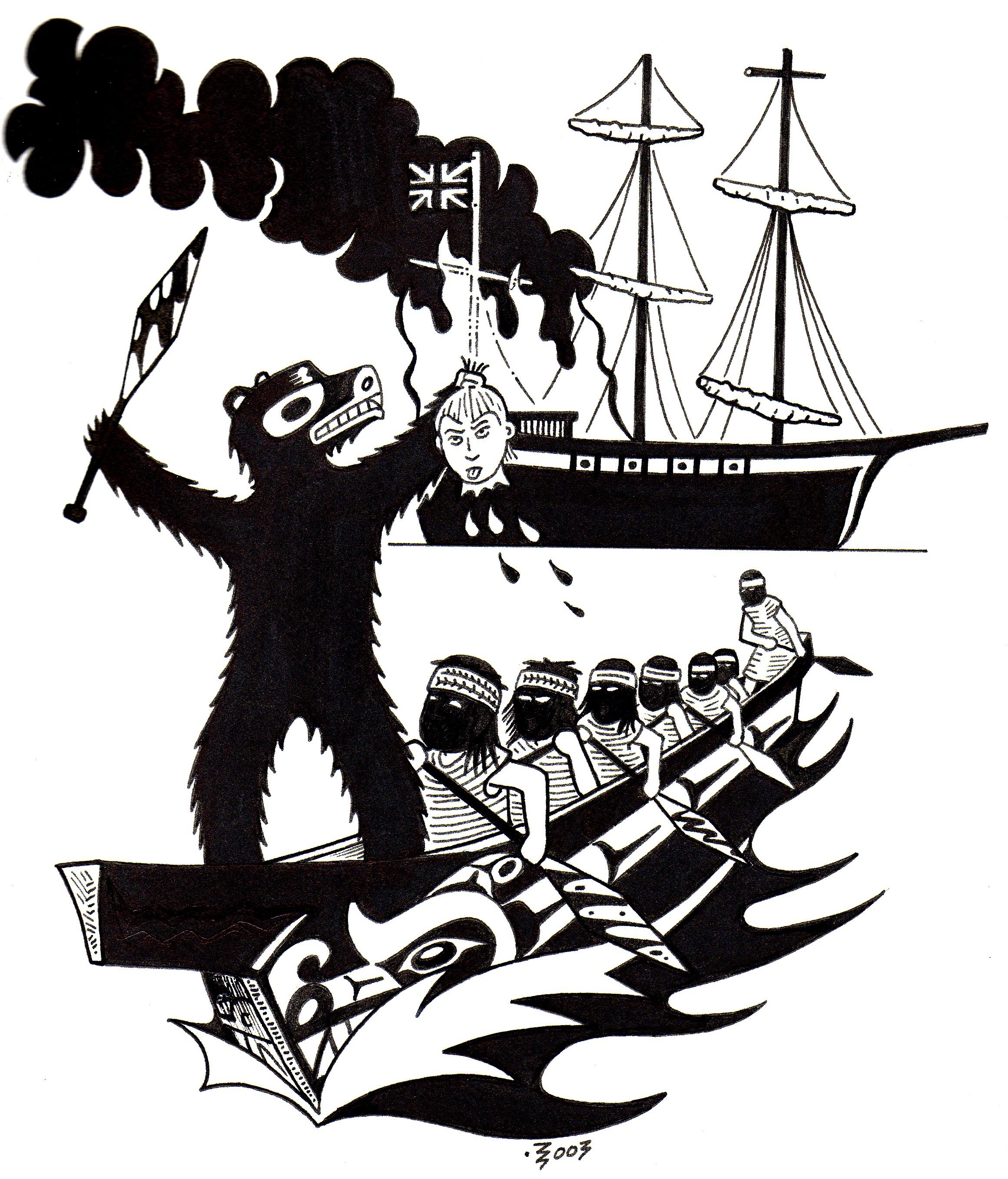 Sailing Ship clipart colonization #8