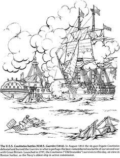 Sailing Ship clipart coloring page #15