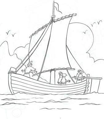 Sailing Ship clipart colouring page Storm Pages Pages calms Pages