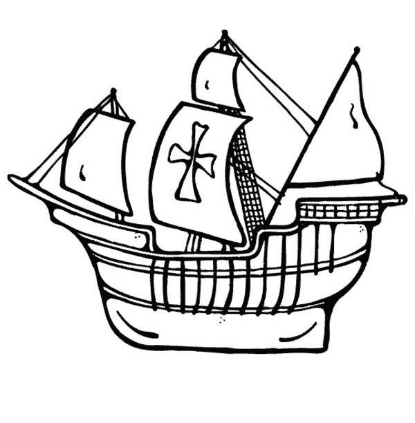 Drawn ship sailor ship Coloring Coloring Pages Coloring Sailing