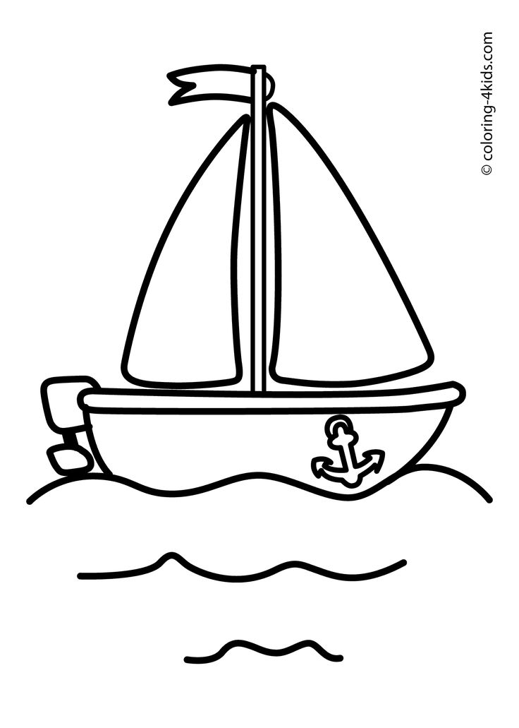 Sailing Ship clipart colouring page Best coloring Pinterest Coloring ship