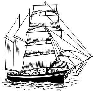 Sailing Ship clipart explorer ship #11