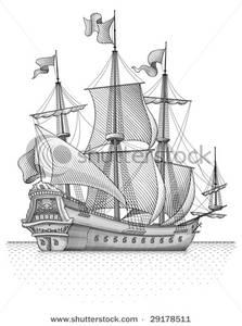Sailing Ship clipart explorer ship #12