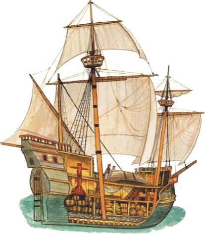 Sailing Ship clipart explorer ship #1