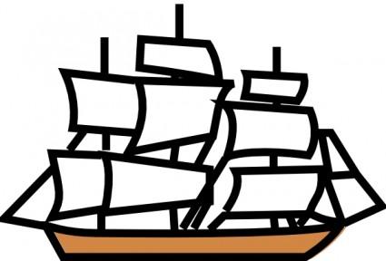 Sailing Ship clipart explorer ship #15