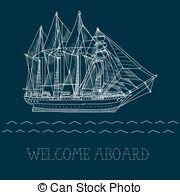 Sailing Ship clipart history subject Sailing history Vector Vector
