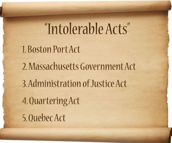 Sailing Ship clipart intolerable act 8 on Acts The American