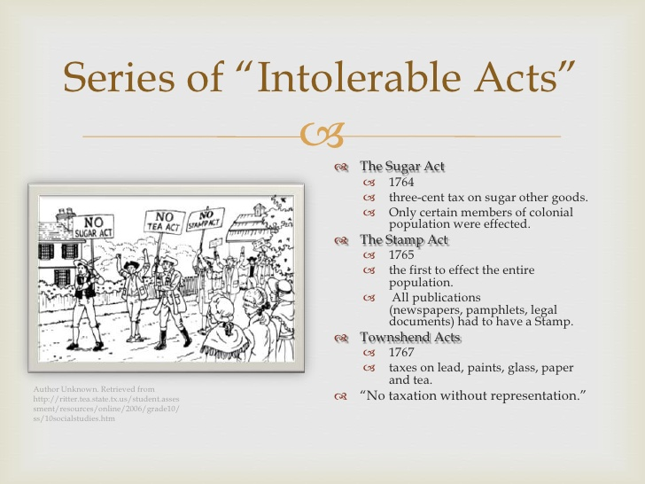 Sailing Ship clipart intolerable act  The american revolution ppt