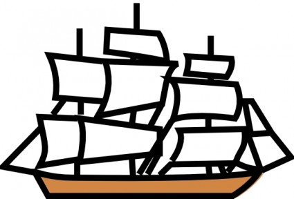 Sailing Ship clipart kapal #6