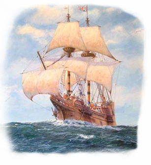Sailing Ship clipart mayflower compact #13