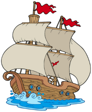 Sailing Ship clipart mayflower ship #7