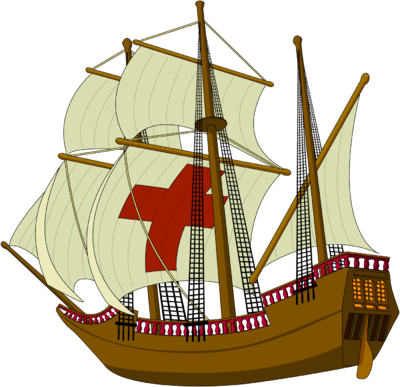 Boat clipart mayflower Mayflower com Clip Christart Art
