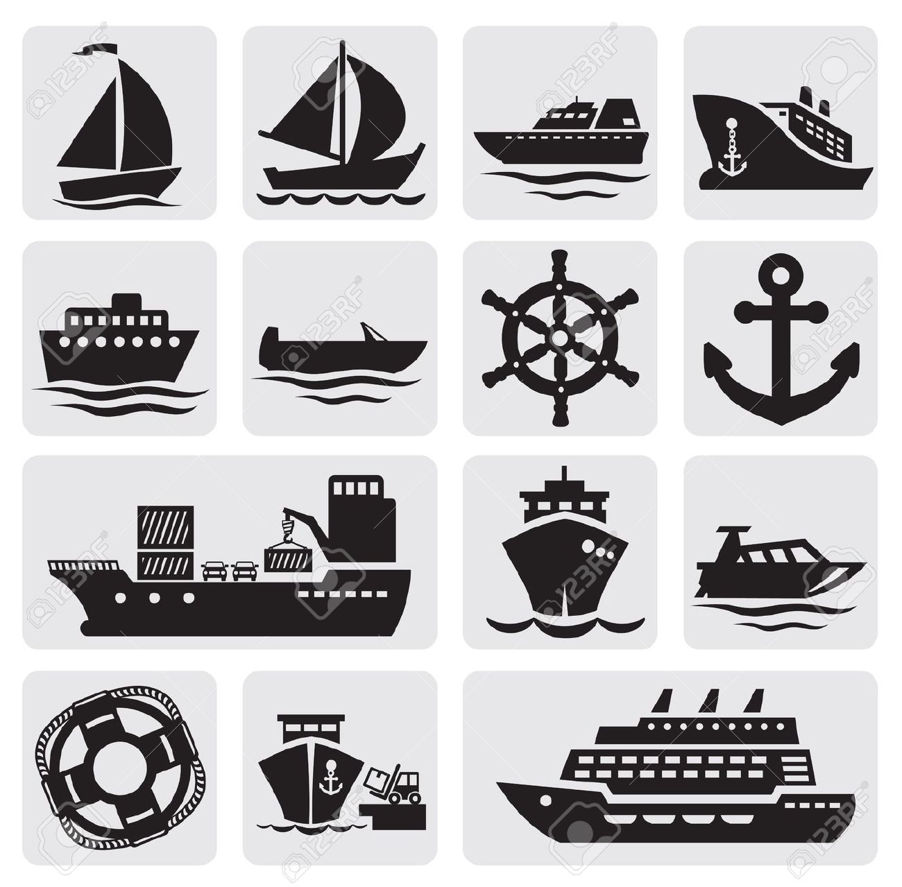 Iiii clipart boat Stock  Free Icons Illustration