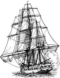 Boat clipart old time Ship public & clip ship