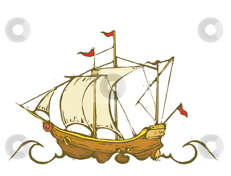 Sailing Ship clipart pirate ship Riding the Black vector pirate
