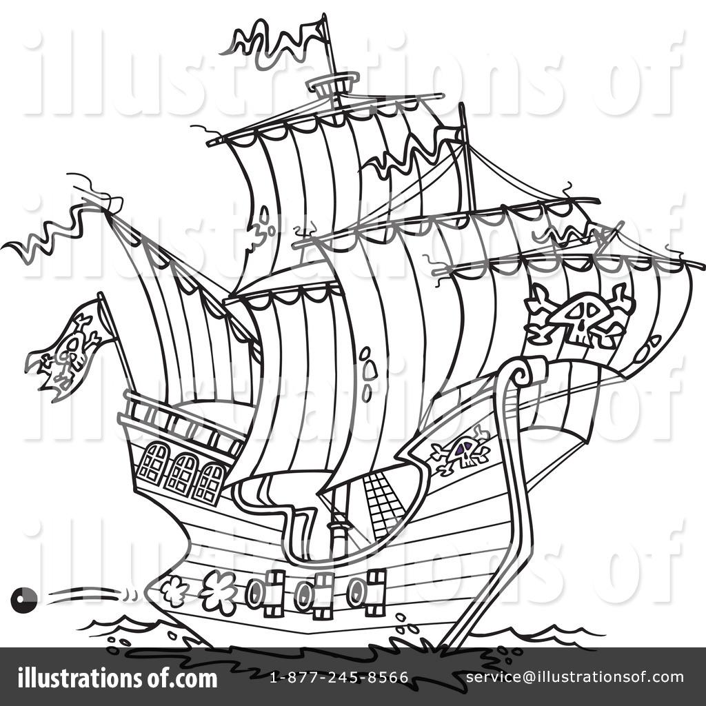 Sailing Ship clipart pirate ship Clipart Illustration Sample Ron Ship