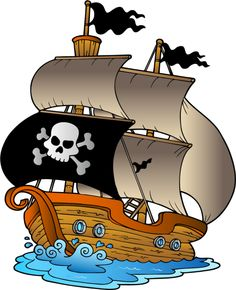 Sailing Ship clipart pirate the caribbean Collection baby  clipart of