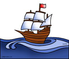 Sailing Ship clipart puritans Colonies Who did Pilgrims &