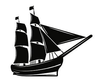 Caravel clipart barko #4