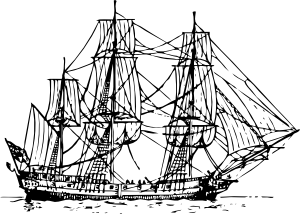 Old Sailing Ships clipart colonial Com online Clip clip Ship