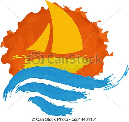Sailing Boat clipart water clipart #15