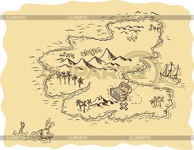 Sailing Ship clipart treasure map Mark EPS x sailing Stock