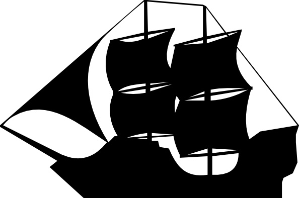 Sailing Ship clipart vector Vector Ship in (