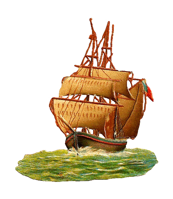 Old Sailing Ships clipart vintage Art Clip of Images: Free